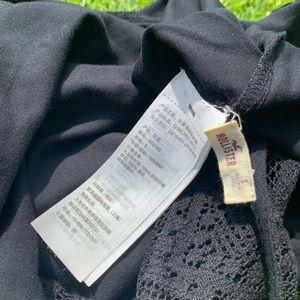 Hollister Dresses - Black Embroidered Hollister 👗
